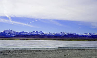 Crowley Lake Photograph - Mammoth View From Crowley Lake by Dale Matson