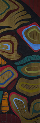 Lake Superior Art Gallery Painting - Man by Francis Esquega