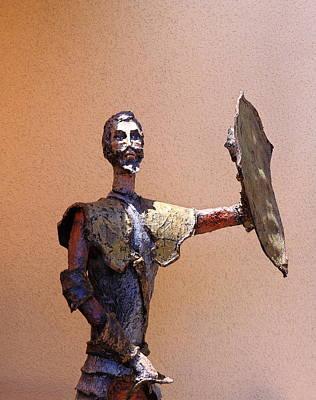 Man Of La Mancha Print by Viktor Savchenko