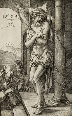 Man Of Sorrows Print by Albrecht Durer