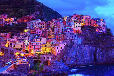 Manarola, Cinque Terre, Italy Print by Karina Fine Art Photography