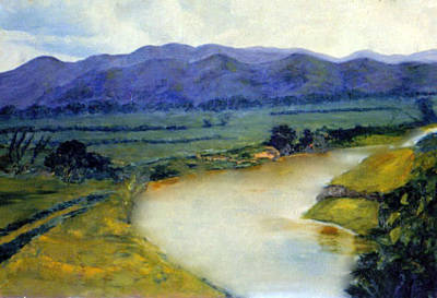 Manati River Print by Gladiola Sotomayor