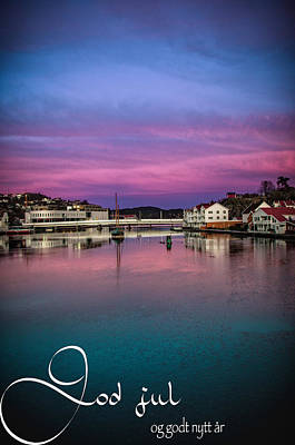 Mandal Photograph - Mandal Julekort by Mirra Photography