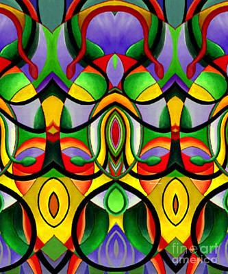 Mandala 9703 Print by Rafael Salazar