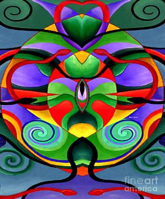 Mandala 9704 Print by Rafael Salazar