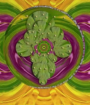 Mandala Art Print by Pepita Selles