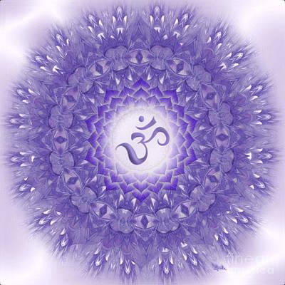 Sahasrara Digital Art - Mandala Art - Sahasrara Mandala By Rgiada  by Giada Rossi