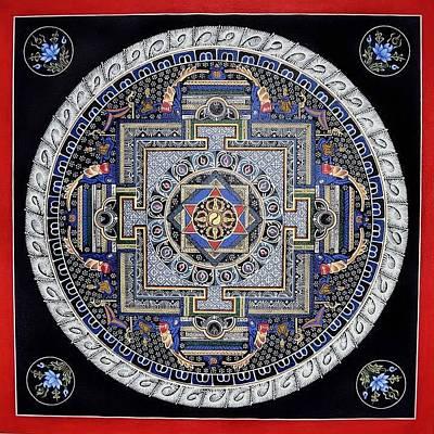 Mandala Print by Ashwin Yoganandi