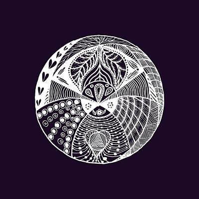 Detail Drawing - Mandala Ldv 2015-02-02 Transparent by Leana De Villiers