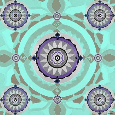Mandala Magic Original by Sandra Petra Pintaric