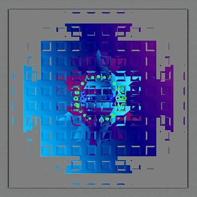 Digital Art - Mandala Mystical by Mario Carini