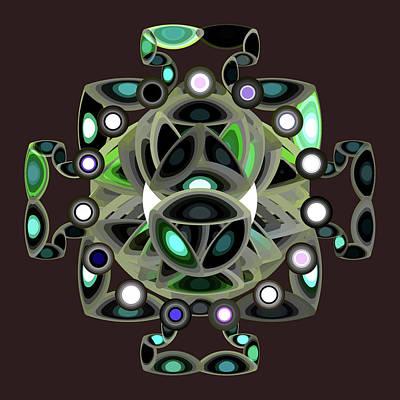 Digital Art - Mandala Spirit by Mario Carini