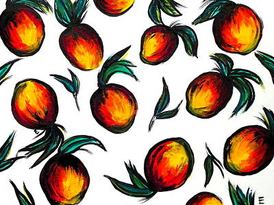 Mangos Print by Erica Seckinger