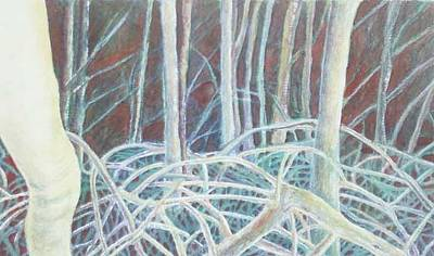 Mangrove Forest Painting - Mangrove Forest by Carmen Durden