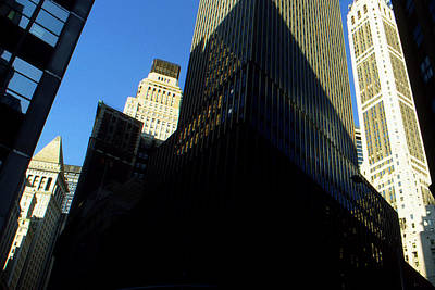 New York City Painting - Manhattan Perspective - New York Photo Art by Art America Online Gallery