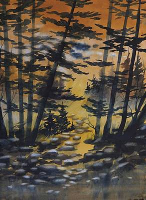 Manistee National Forest, 2 Print by David K Myers