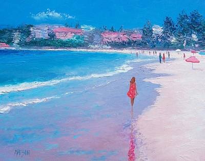 Manly Painting - Manly Beach by Jan Matson