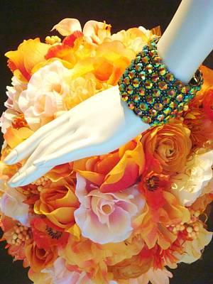 Mannequin Hand's Flowers Original by Allen Meyer