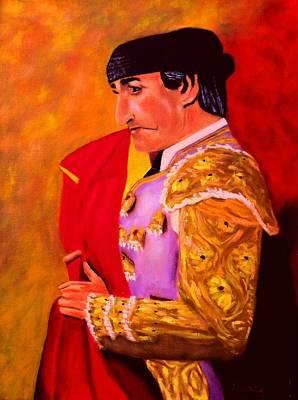 Spain Painting - Manolete1 by Manuel Sanchez