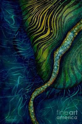 Green Abyss Painting - Manta by Lyn Pacificar