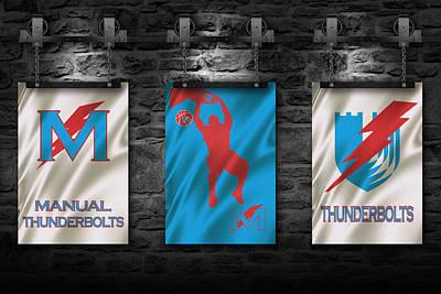 Manual Thunderbolts 3 Print by Joe Hamilton