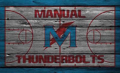Manual Thunderbolts 4 Print by Joe Hamilton