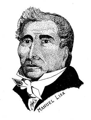 Manuel Lisa Print by Clayton Cannaday