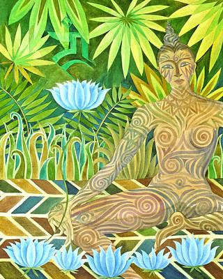 Buddhist Painting - Maori Tara  by Jennifer Baird