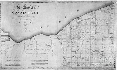 Map: Western Reserve Print by Granger