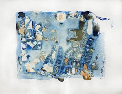 Abstracto Mixed Media - Mar Sea by Elena Petrova Gancheva