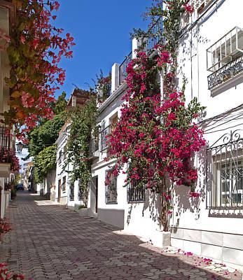 Bougainvilla Photograph - Marbella Old Town by Kenton Smith