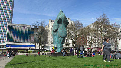 Horse Sniffing The Tourists Farts - Hyde Park Corner 01 - London  Original by Mudiama Kammoh
