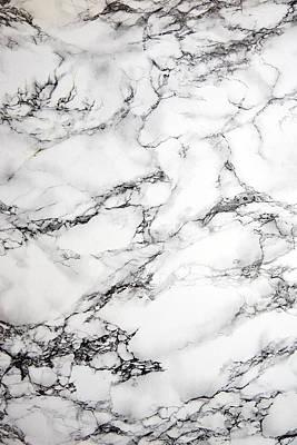 Marble Background Print by Jo Ellis