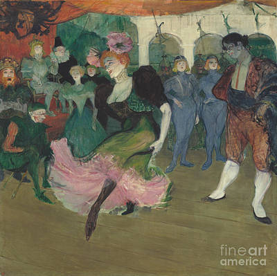 Lender Painting - Marcelle Lender Dancing The Bolero In Chilperic by Henri de Toulouse
