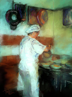 Marcello's Wife Print by Colleen Taylor