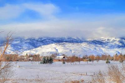 Winter Landscapes Photograph - March Morning In Reno by Donna Kennedy