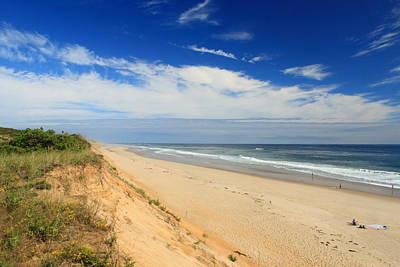 Marconi Beach Cape Cod National Seashore Print by John Burk