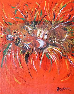 Mardi Gras Painting - Mardi Gras 2 by Gary Smith