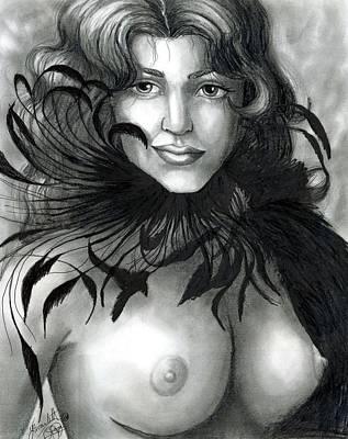 Mardi Drawing - Mardi Gras by Scarlett Royal
