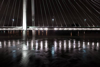 Dallas Photograph - Margaret Hunt Hill Bridge May 25 2015 by Rospotte Photography