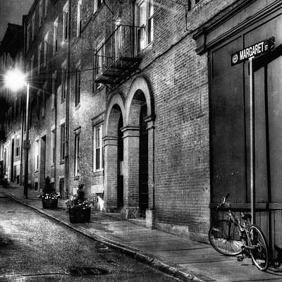 Margaret Street - Boston - North End Print by Joann Vitali