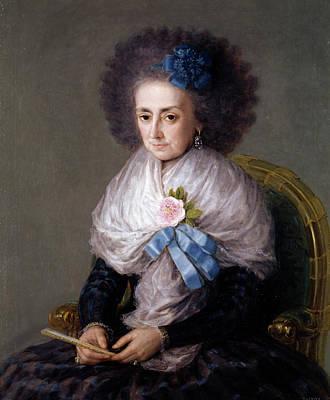 Royal Painting - Maria Antonia Gonzaga, Marchioness Widow Of Villafranca by Francisco Goya