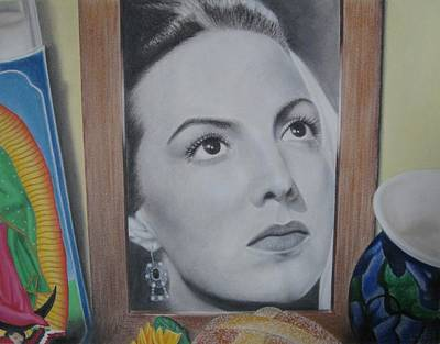 Maria Bonita Print by Lynet McDonald