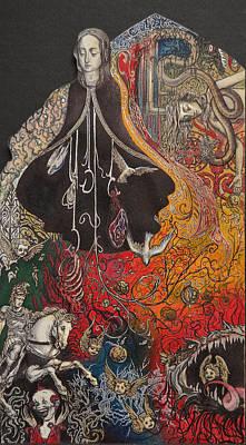 Maria Del Carne Print by Jordan Montgomery