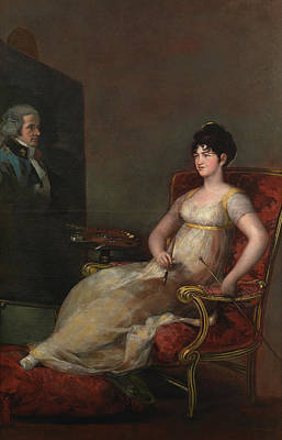 Royal Painting - Maria Tomasa De Palafox, Marchioness Of Villafranca by Francisco Goya