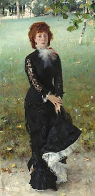Auburn Painting - Marie Buloz Pailleron by John Singer Sargent