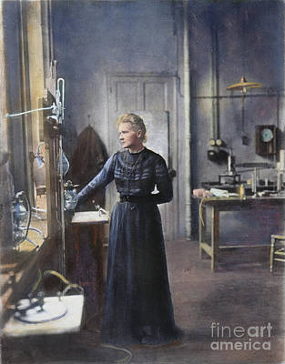 Madame Photograph - Marie Curie (1867-1934) by Granger
