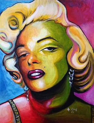 Marilyn Original by Barney  Ortiz