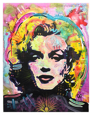 Painting - Marilyn by Dean Russo