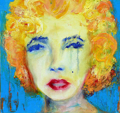 Marilyn Print by Jacquie Gouveia